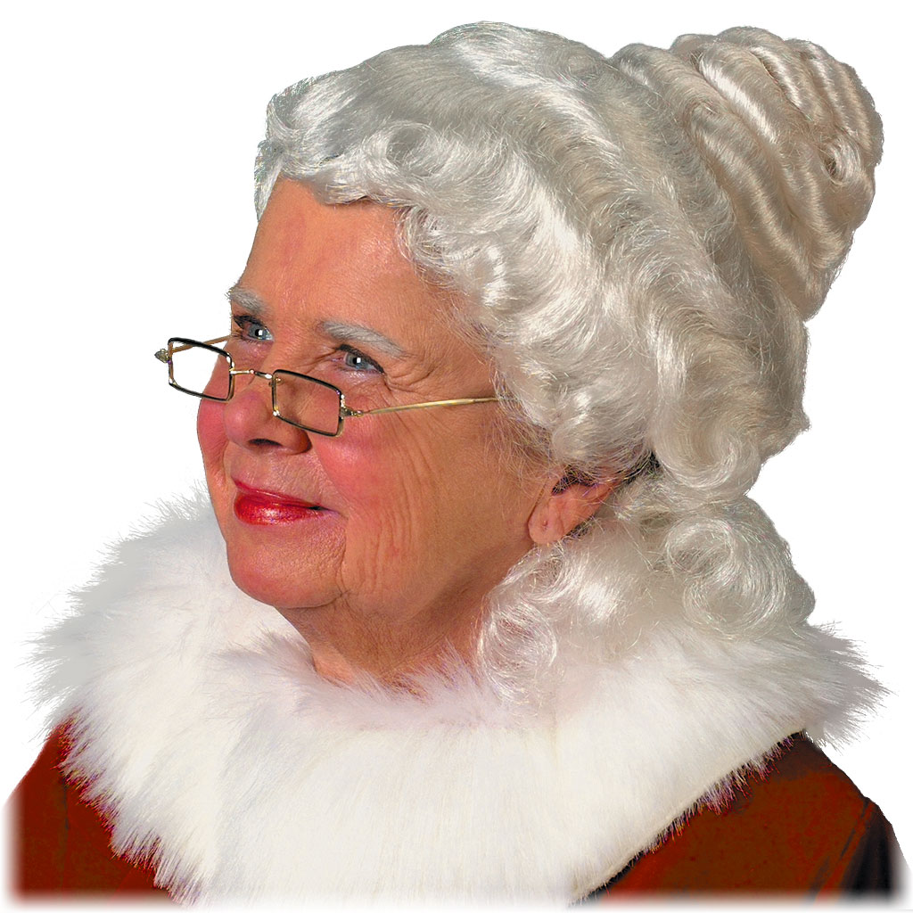 #51 - Beautiful Mrs. Claus Wig