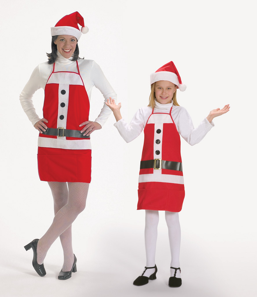#7060 - Holiday Apron & Hat