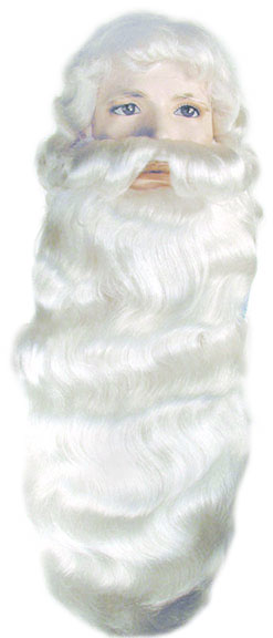 Lacey Jumbo #006K Santa/Father Xmas Wig & Beard Set