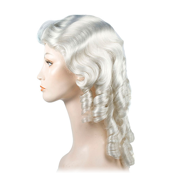 "Lacey Mrs. Claus ""Southern Bell"" Wig"