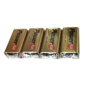 Set of 4 9V Batteries